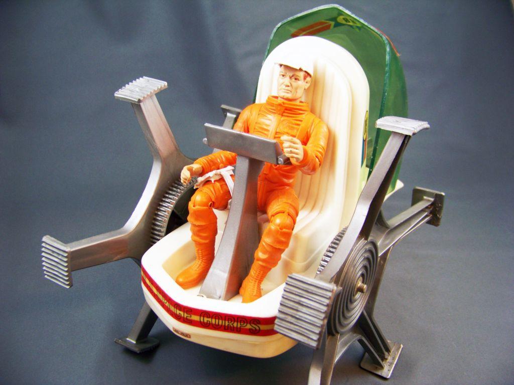 Johnny Apollo - Marx Toys - Space Crawler avec Mark Apollo (1968) 12