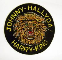 Johnny Hallyday 6\'\' Patch Johnny Hallyday - Harry King
