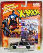 Johnny Lightning - The Uncanny X-Men - 1990 Ford Crown Victoria