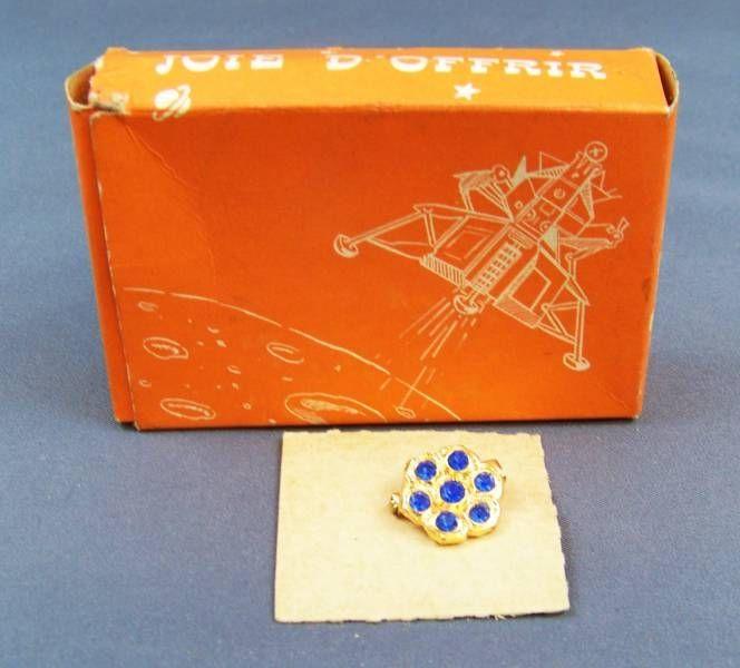 Joie d\'Offrir / Plaisir de Recevoir - Jewelry-Gadget Surprise Box - Sapphires Pin