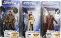 Jonah Hex - Set of 3 Neca figures : Jonah Hex, Lilah & Quentin Turnbull