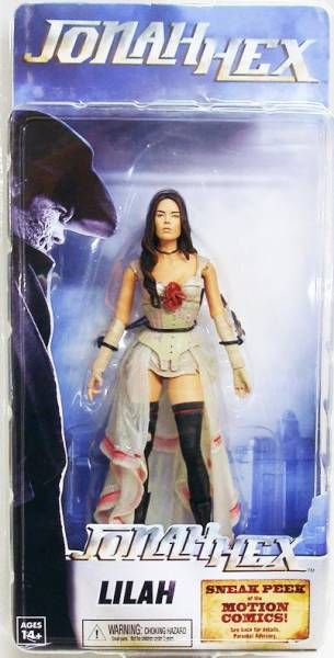 Jonah Hex - Set of 3 Neca figures : Jonah Hex, Lilah & Quentin Turnbull