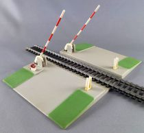 Jouef 2675 Ho Sncf Hand Operating Crossing Level 1 Track Double sens Road