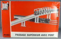 Jouef 2679 Ho Passage Supérieur Super 8 Pont Rails Maillechort en boite