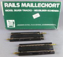 Jouef 4786 Ho 2 Rails Droit Maillechort Extensible 86 à 1117 mm Neuf boite