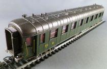 Jouef 5115 Ho Sncf Ocem Coach A3B5 myfi 4856 1st & 2nd Class green Livery Grey Roof