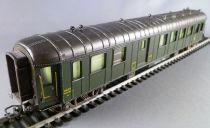 Jouef 5116 Ho Sncf Ocem Coach B4D myfi 34074 2nd Class/Van green Livery Grey Roof