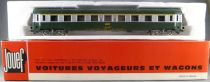 Jouef 5291 Ho Sncf Uic Coach A9 1st Class Green & grey Livery in box