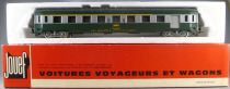Jouef 5294 Ho Sncf Uic Coach A7D 1st Class Lugages Van Green & grey Livery in box