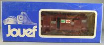 Jouef 6251 Ho Sncf Uic Sernam Covered Wagon in box