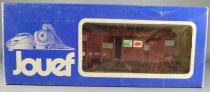 Jouef 6251 Ho Sncf Wagon Couvert Unifié Uic Sernam en Boite