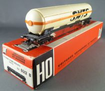 Jouef 6512B Ho Sncf Tank Wagon with bogies Cie Smts in box