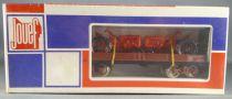 Jouef 6520 Ho Sncf Wagon Plat à bogies 2 Tracteurs Agricoles Neuf Boite cellophanée