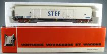 Jouef 6760 Ho Sncf Fridge Wagon with blogie Cie Stef in box