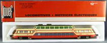 Jouef 8520M Ho Sncf Panoramic Autorail X 4203 with light in Red box