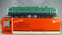 Jouef 854Ei Ho Sncf Electric Loco CC 7107 with reversed lights in red box