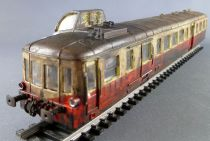 Jouef 8601 Ho Sncf Diesel Autorail Picasso XBD 4051 Nevers Painted Patina