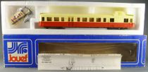 Jouef 8601 Ho Sncf Diesel Autorail Picasso XBD 4051 Nevers with light Mint in box