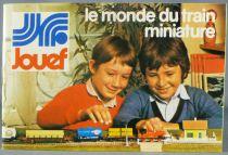 Jouef Ancien Catalogue Locomotives Vapeur Tgv Voies Etat Neuf