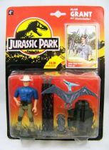 Jurassic Park - Kenner - Figurine Plastique - Alan Grant & filet de capture 01