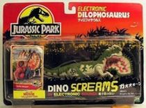 Jurassic Park - Kenner - Dilophosaurus (Dino Screams) (Mint on card)