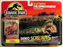 Jurassic Park - Kenner - Dilophosaurus (Dino Screams) (Mint on card)