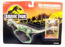 Jurassic Park - Kenner - Dilophosaurus (mint on card)