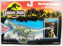 "Jurassic Park - Kenner - Dilophosaurus ""with Capture Gear\"" (mint on card)"