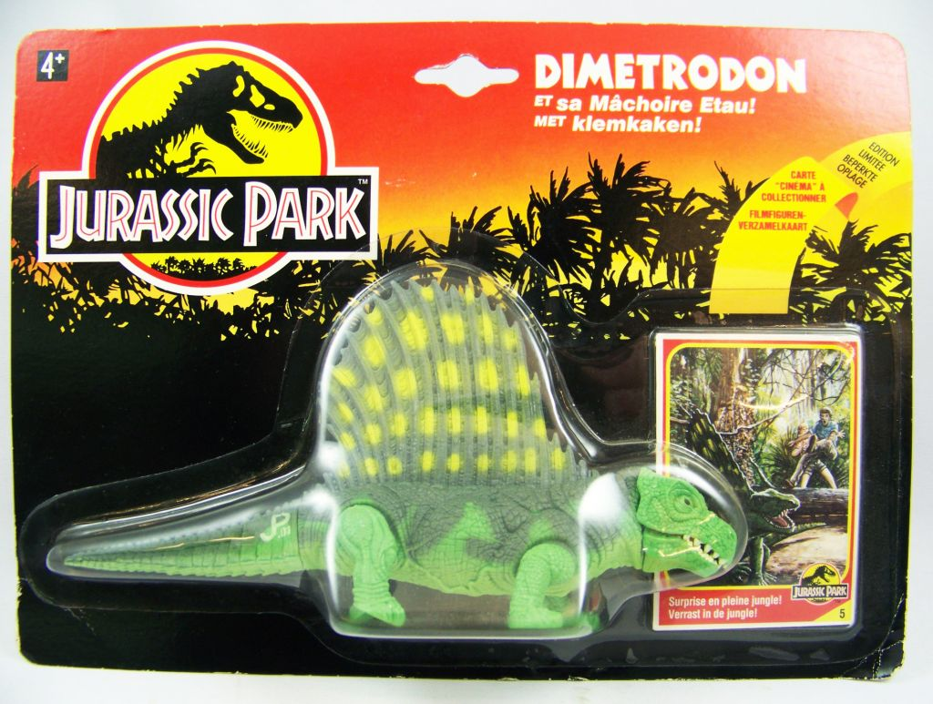 Jurassic Park - Kenner - Dimetrodon (mint on card)