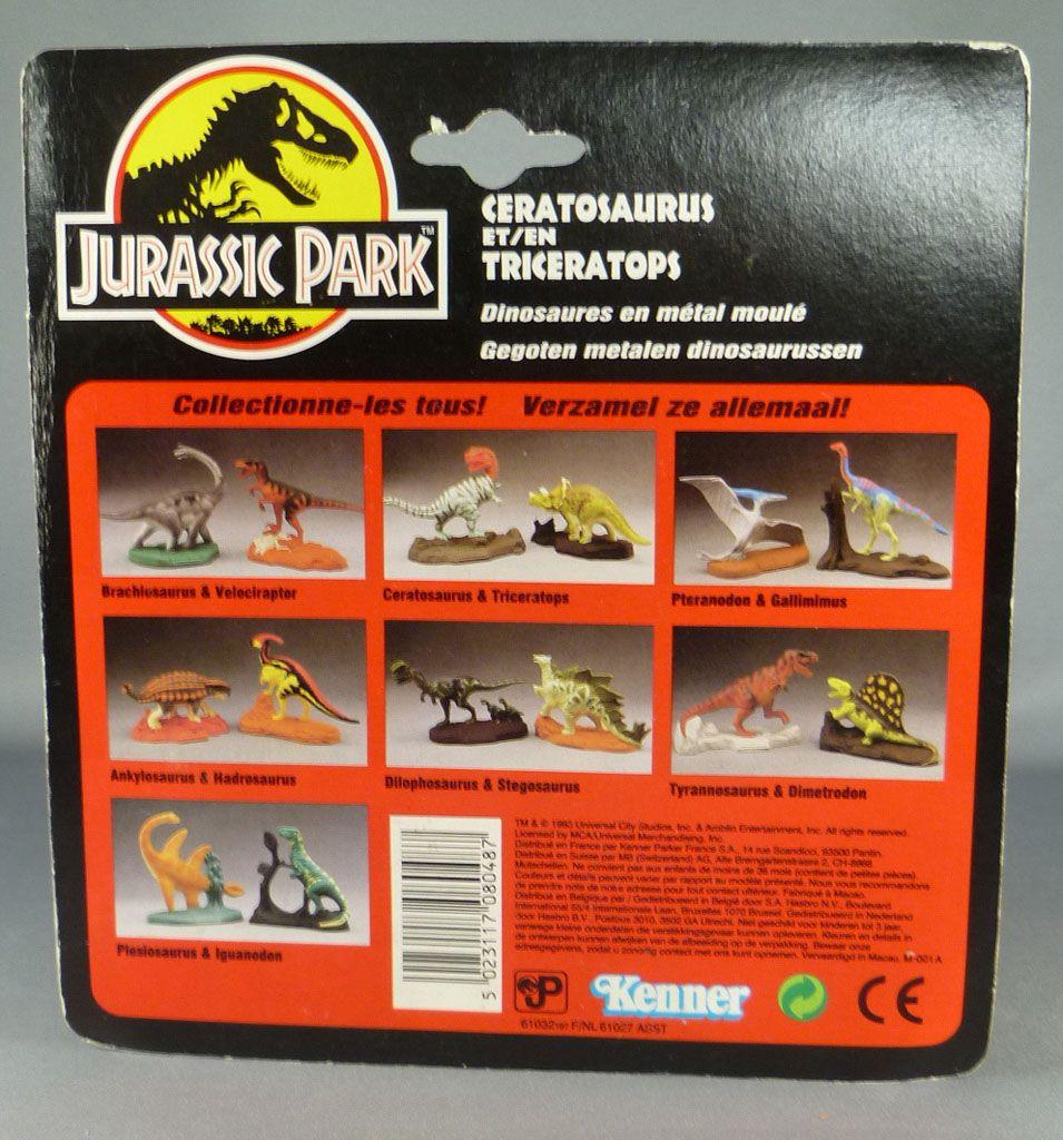 Jurassic park kenner figurine m tal ceratosaurus - Envoyer un colis sans payer les frais de port ...