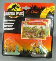 jurassic_park___kenner___figurine_metal___plesiosaurus___iguanodon_neuf_blister_1