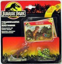 Jurassic Park - Kenner - Metal Figure - Tyrannosaurus & Dimetrodon