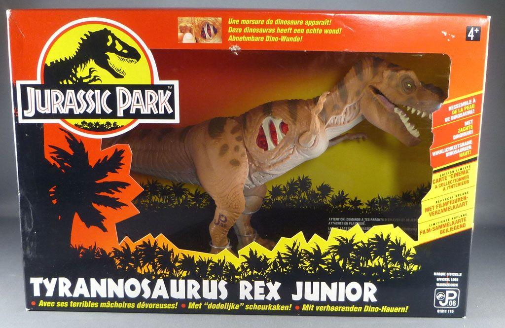 Jurassic Park Toys T Rex : Jurassic park kenner young t rex mint in box