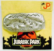Jurassic Park - Kid\'s Jewels - Bobby Pin \'\'Triceratops vs. T-Rex\'\' - Diplodocus Design for Fantabijoux 1992