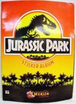 Jurassic Park - Sticker Album - Merlin Collection 1992