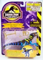 Jurassic Park (Chaos Effect) - Kenner - Raptor Alpha (mint on card)