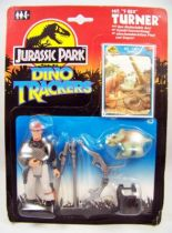 Jurassic Park (Dino Trackers) - Kenner - Sgt. T-Rex Turner (neuf sous blister) 01