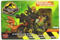 Jurassic Park 2: The Lost World - Kenner - Dino-snare Dirt Bike