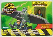 Jurassic Park 2 Le Monde Perdu - Kenner - Aile Delta avec Ian Malcolm (neuf en boite) 01