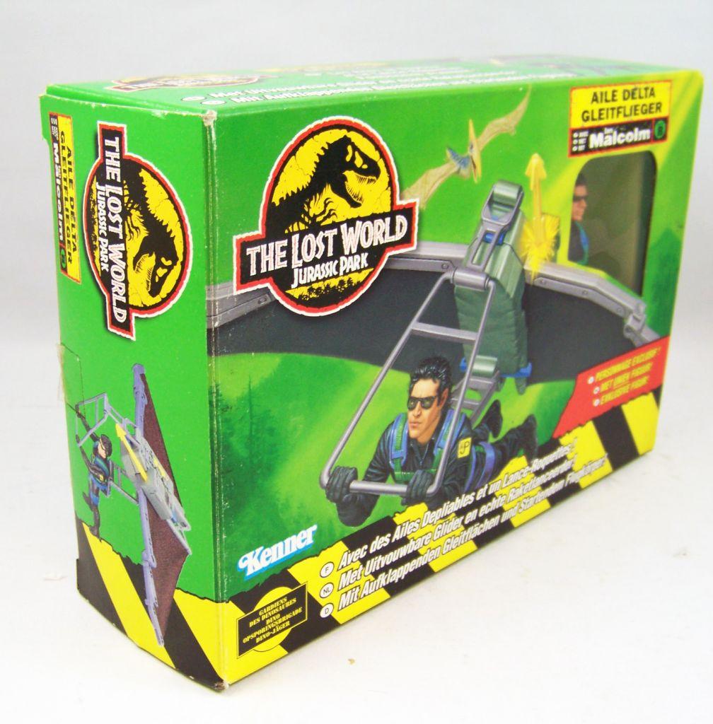 Jurassic Park 2 Le Monde Perdu - Kenner - Aile Delta avec Ian Malcolm (neuf en boite) 02