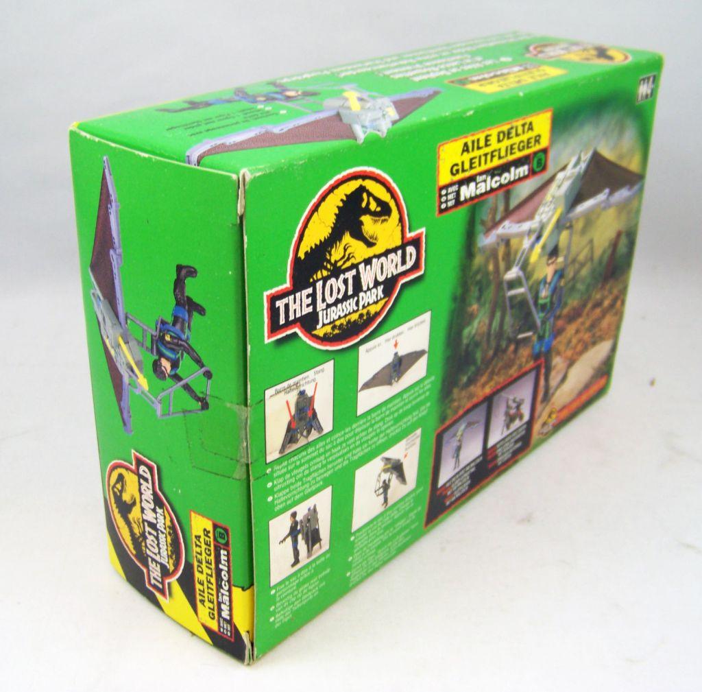 Jurassic Park 2 Le Monde Perdu - Kenner - Aile Delta avec Ian Malcolm (neuf en boite) 03