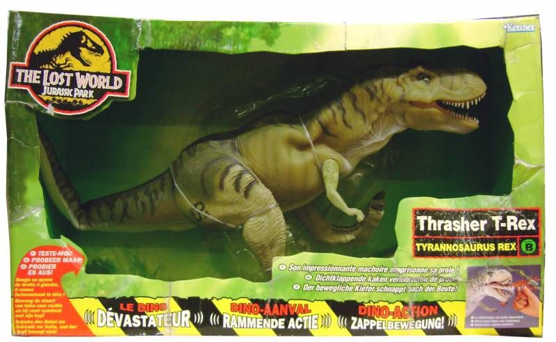 Jurassic Park 2 The Lost World Kenner Thrasher T Rex