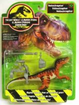 Jurassic Park 2: The Lost World - Kenner - Velociraptor (mint on card)