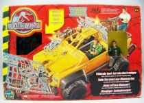 Jurassic Park 3 - Hasbro - Tout-Terrain Dino Trapper (Electronique) avec Billy Brennan (neuf en boite) 01
