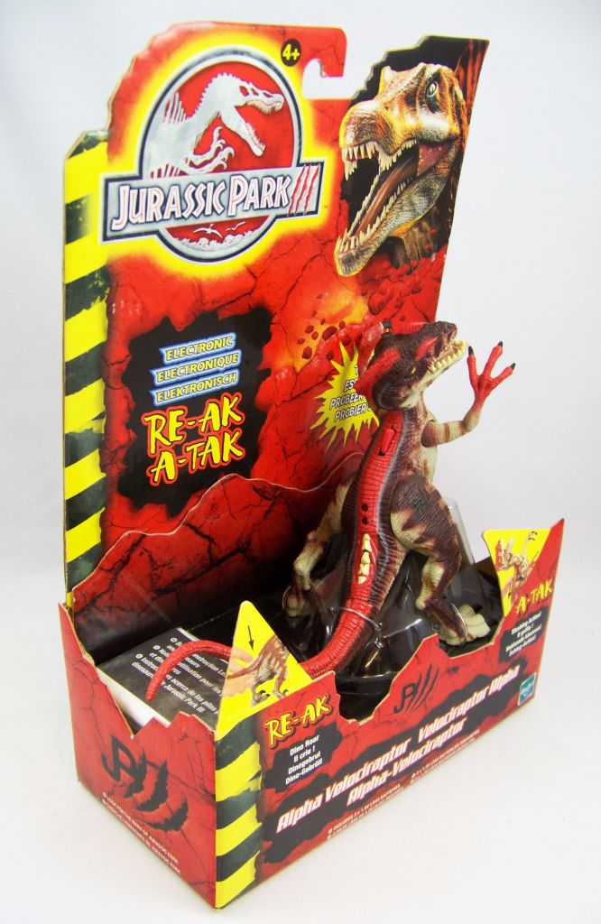 Jurassic Park 3 Velociraptor Toy Jurassic Park 3...