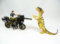 Jurassic Park 3 - Hasbro - Raptor Motorcycle Pursuit (Electronique) occasion 01
