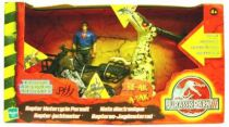 Jurassic Park 3 - Raptor Motorcycle Pursuit (Electronic) - Hasbro