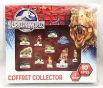 Jurassic World - Boxed giftset of 11 porcelain bean-figures