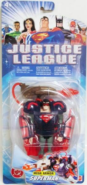 Justice League - Mega Armor Superman
