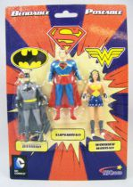 Justice League - NJCroce - Bendable Figures 3-Pack
